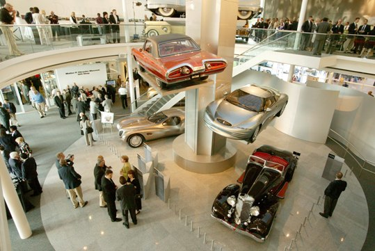 Chrysler Corporation concept cars throughout the '40s, '50s, and '60s - 47972attach