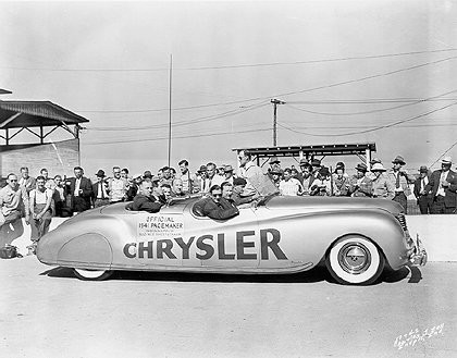 Chrysler Corporation concept cars throughout the '40s, '50s, and '60s - 47974attach