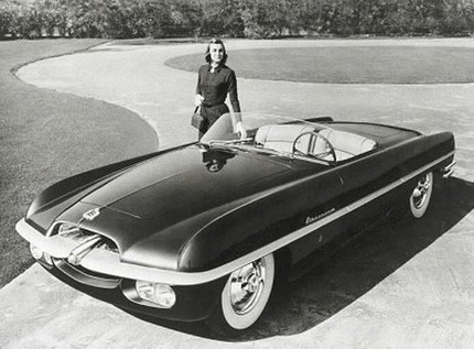 Chrysler Corporation concept cars throughout the '40s, '50s, and '60s - 47979attach