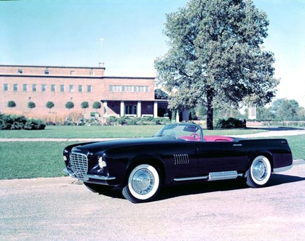 Chrysler Corporation concept cars throughout the '40s, '50s, and '60s - 47983attach
