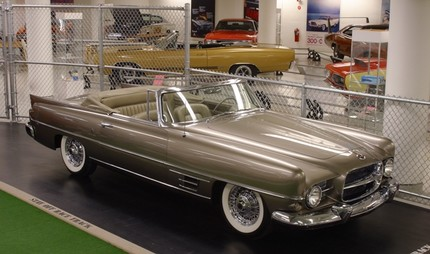 Chrysler Corporation concept cars throughout the '40s, '50s, and '60s - 47989attach