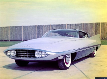 Chrysler Corporation concept cars throughout the '40s, '50s, and '60s - 47990attach