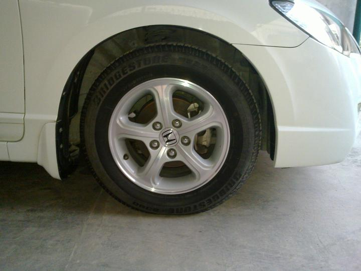 "Original civic 15"" Rims+Tyres For Sale.. - 49501attach"