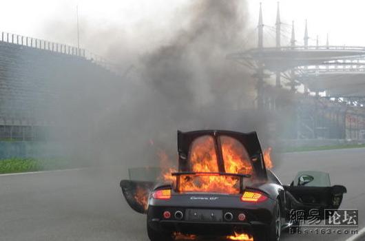 53455-Nano-car-bursts-into-flames-Porsche-CGT-fire-Shanghai-01