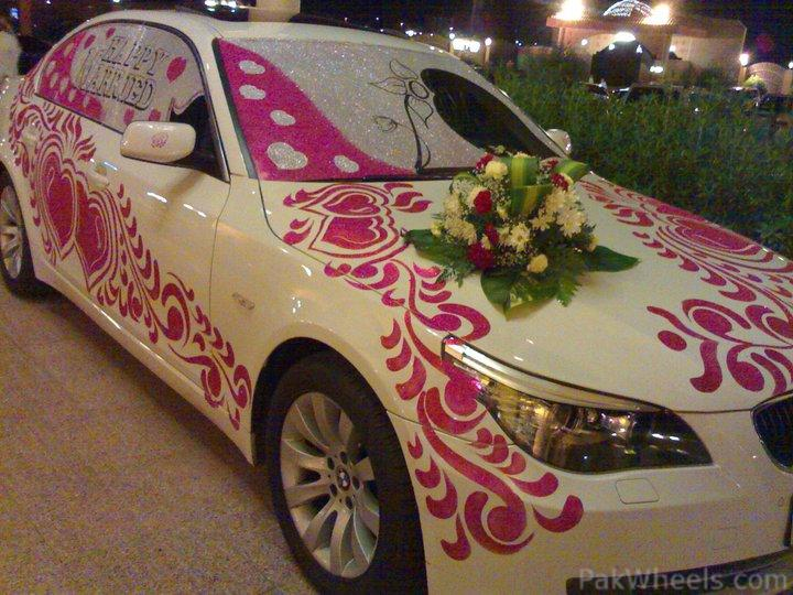 hi guys have a look on some Decorated wedding cars