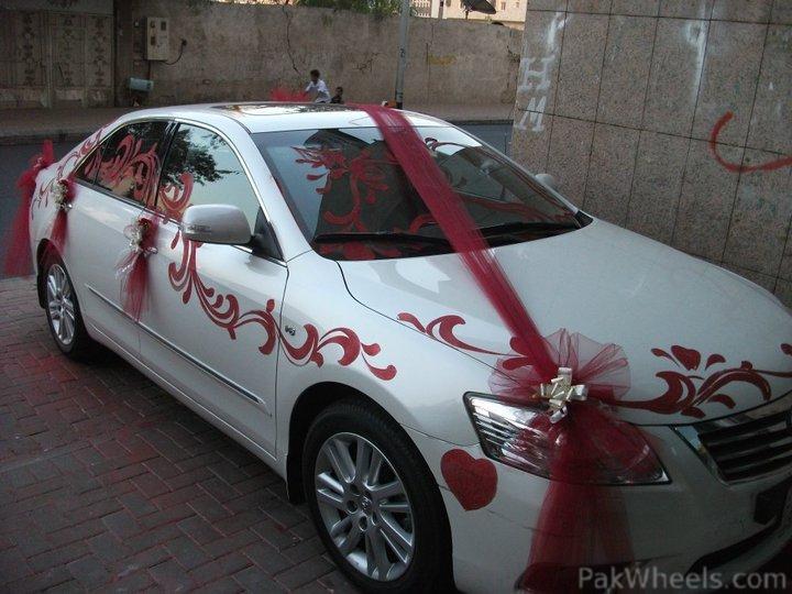 New ways for Wedding Car Decoration PakWheels Forums