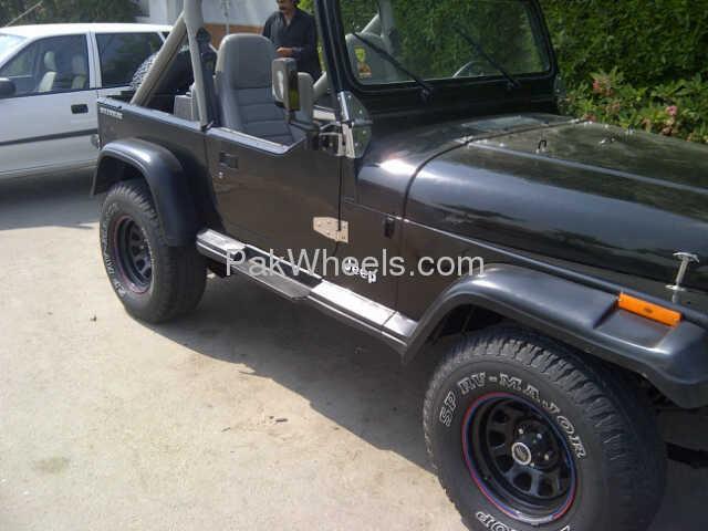 jeep wrangler 1996 of maj member ride 18715 pakwheels. Black Bedroom Furniture Sets. Home Design Ideas